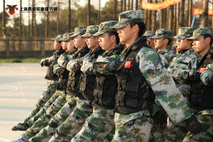 军事资讯_正步走的动作要领-上海西点军事夏令营